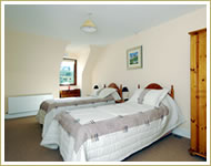 Holiday Homes Athdown Twin Bedroom