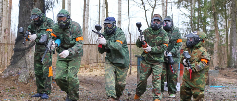 Paintballing Wicklow