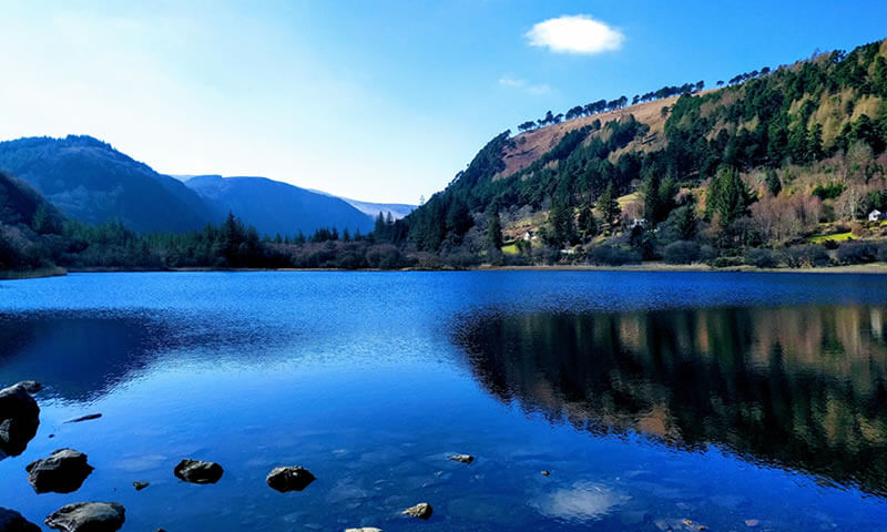 Explore Ireland's wild and beautiful Wicklow Mountains on foot