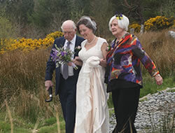 Mel Hugh Wedding Kippure Estate in Wicklow