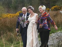 Mel Hugh Wedding Kippure Estate in Wicklow