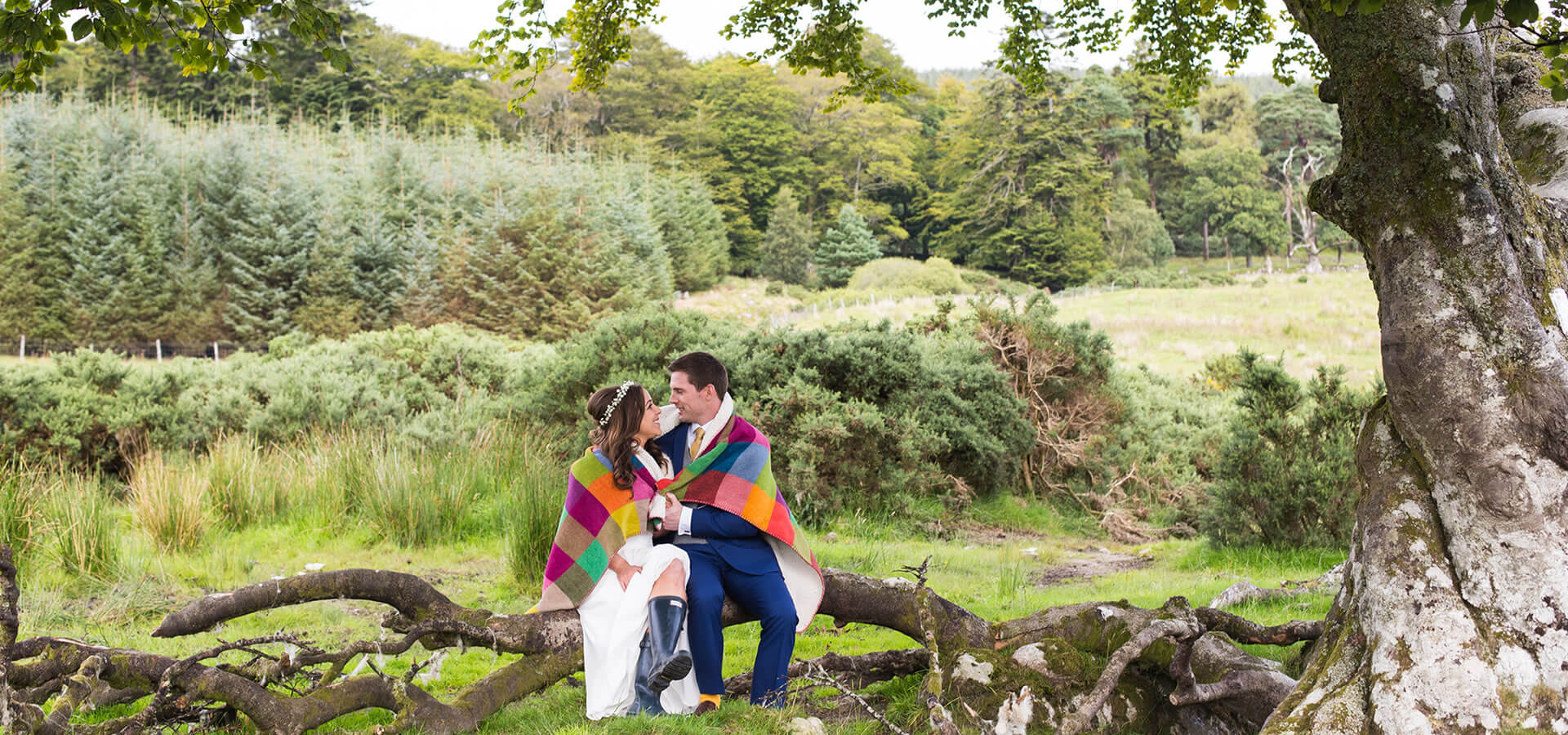 Wicklow Mountain Venue Wedding