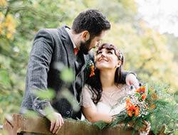 Autumn Wedding Kippure Estate Justine & Dermot
