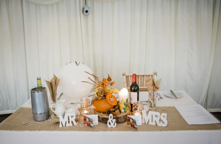 Autumn Wedding Kippure Estate Wicklow